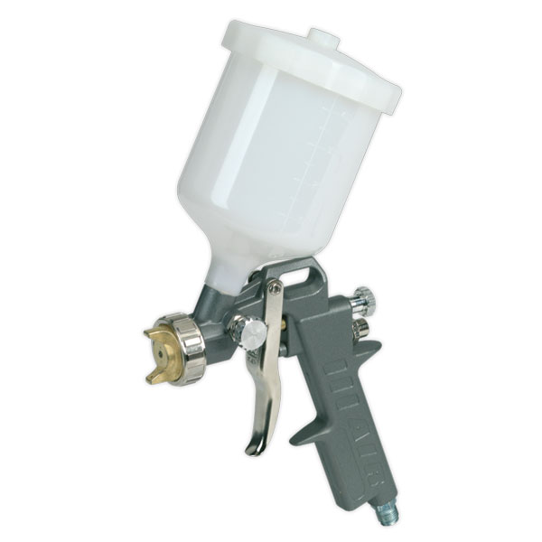 Sealey SSG501 Spray Gun Gravity Feed 2.2mm Set-Up