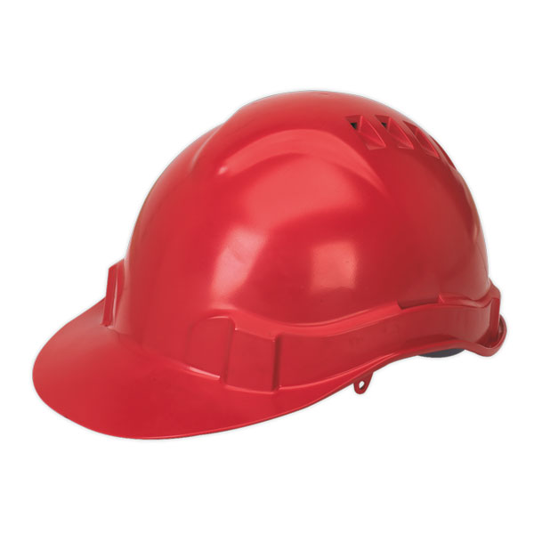 Sealey SSP17 Safety Helmet Red BSEN397
