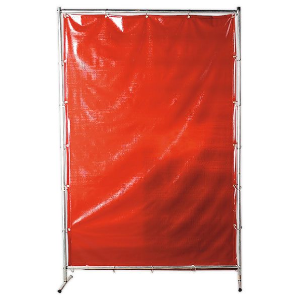 Sealey SSP99 Workshop Welding Curtain to BSEN1598 & Frame 1.3 x 1.9mtr