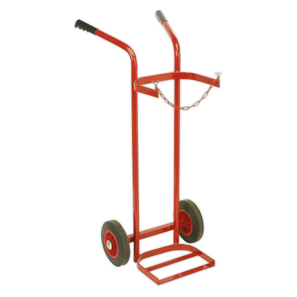 Sealey ST28S Welding Bottle Trolley - Single