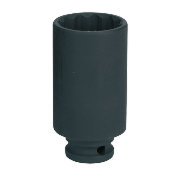 "Sealey SX0041 Impact Socket 33mm Bi-Hex Deep 1/2""Sq Drive"