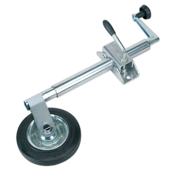 Sealey TB371 Jockey Wheel & Clamp 35mm - 150mm Solid Wheel
