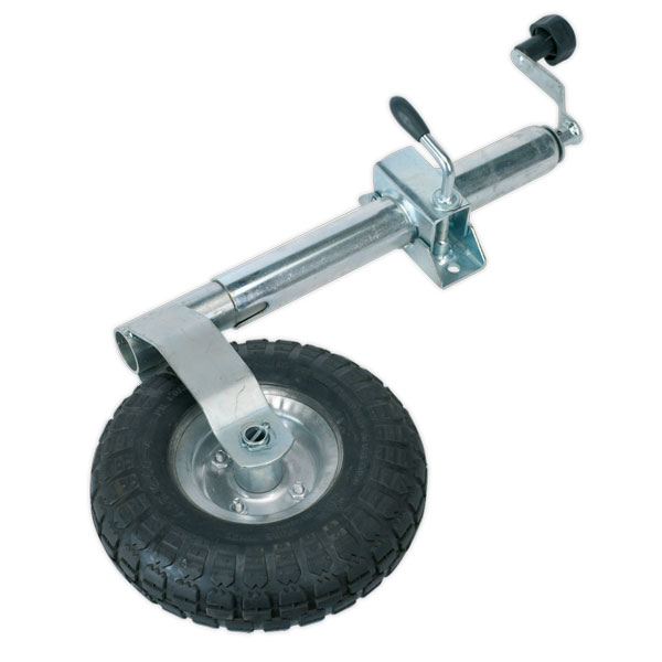 Sealey TB372 Jockey Wheel & Clamp 48mm - 260mm Pneumatic Wheel