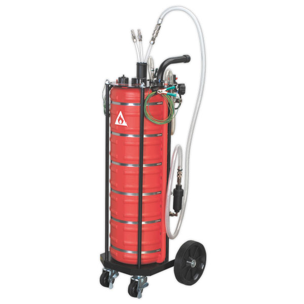 Sealey TP200 Air Operated Fuel Drainer 40ltr
