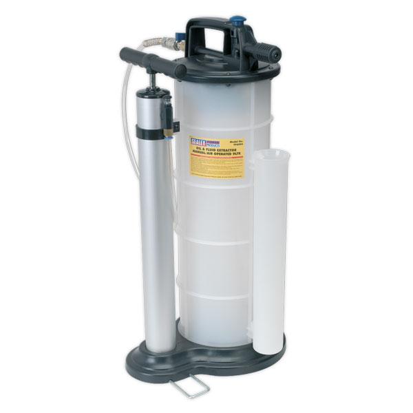 Sealey tp vacuum oil fluid extractor manual air ltr