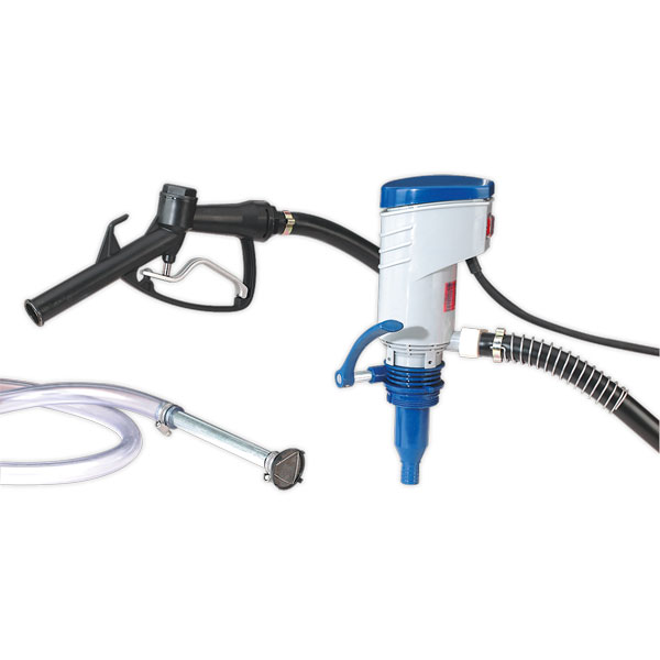 Sealey TP97 Diesel & Fluid Transfer Pump Portable 12V