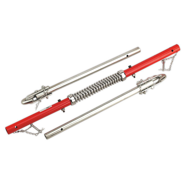 Sealey TPK2522 Tow Pole 2000kg Rolling Load Capacity with Shock Spring GS/TUV