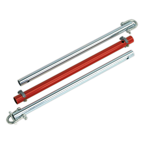 Sealey TPK253 Tow Pole 2500kg Rolling Load Capacity GS/TUV