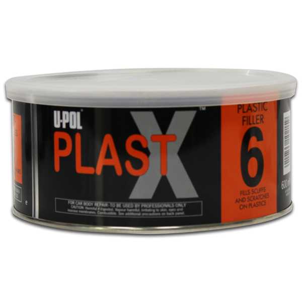 U-POL Plastx Smooth High Adhesion Body Filler For Plastics - 600Ml
