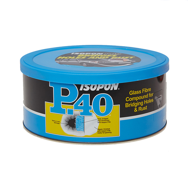 U-POL U-Pol P40 Body Filler For Holes - 600ml