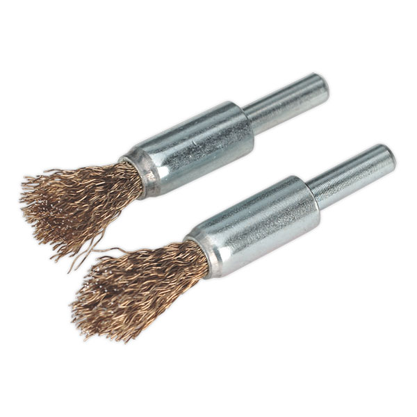 Sealey VS1801 Decarbonising Brush Set 2pc 13mm