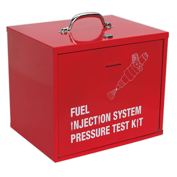 Sealey VS2113 Fuel Injection Pressure Test Kit Storage Cabinet
