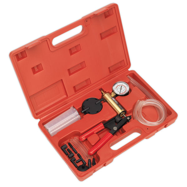 Sealey VS402 Vacuum Tester & Brake Bleeding Kit