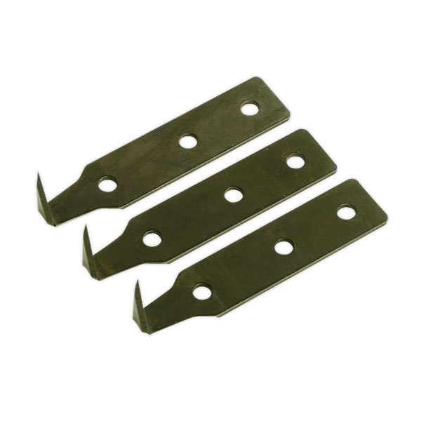 Sealey WK02002 Windscreen Removal Tool Blade 25mm Pack of 3