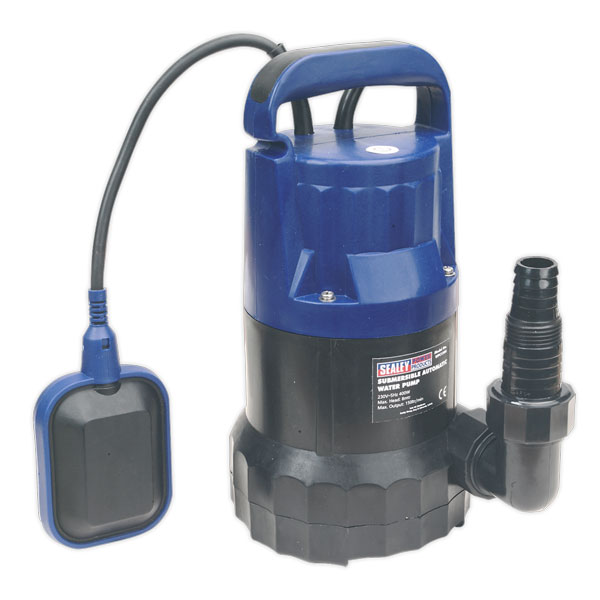 Sealey WPC150A Submersible Water Pump Automatic 150ltr/min 230V