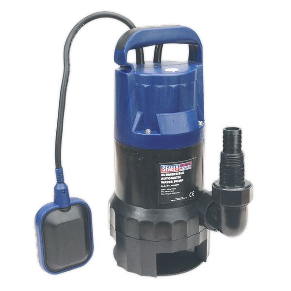 Sealey WPD235A Submersible Dirty Water Pump Automatic 235ltr/min 230V