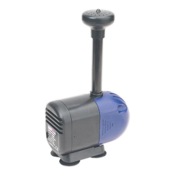 Sealey WPP1100 Submersible Pond Pump 1100ltr/hr 230V