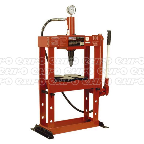 Sealey Yk10b Hydraulic Press 10tonne Bench Type Euro Car Parts Ie