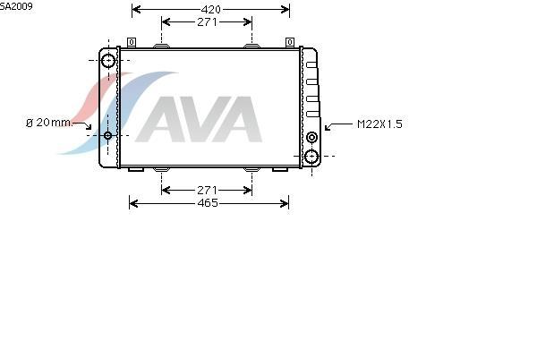 AVA Radiator(ADDITIONAL RADIATOR)