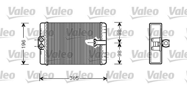 Valeo Heater Matrix