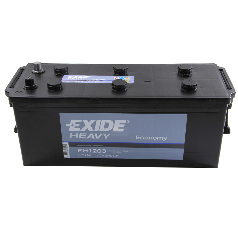 Exide Commercial Battery 627 - 2 Year Guarantee