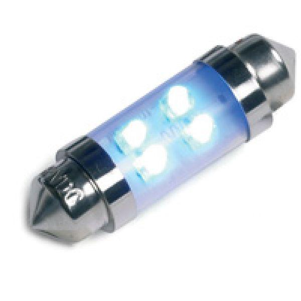 Ring 12v 4 LED 239 (interior) Bulb - Blue Twin Pack